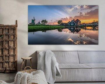 Zaanse Schans Holland von Achim Thomae