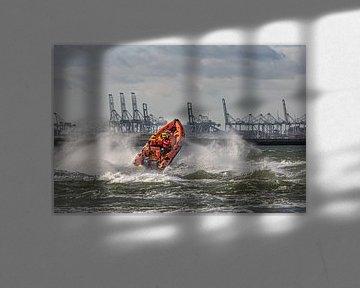 Rettungsboot Margot Krijnen - STC-KNRM Offshore Safety von Kevin Ratsma