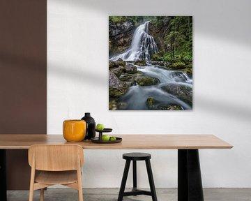 Gollinger waterval in het Salzburger Land van Achim Thomae