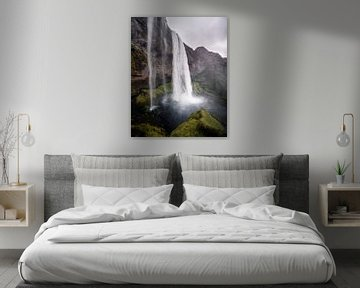 Seljalandsfoss-Wasserfall, Island von Harmen van der Vaart