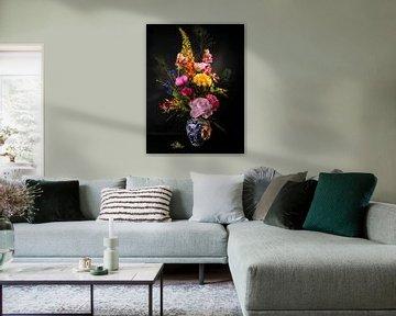 kleurrijke bloemen van simone swart