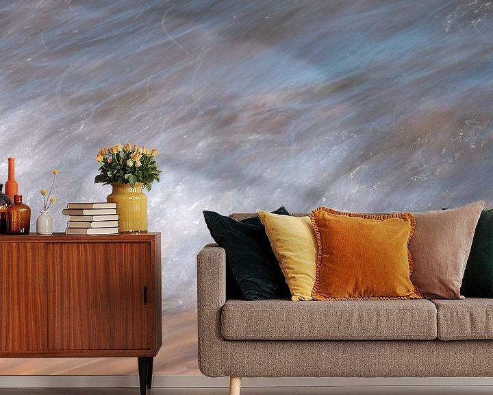 Sfeerimpressie behang: Branding van Leo Luijten