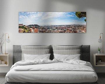 Lissabonner Stadtbild von Erik Wardekker