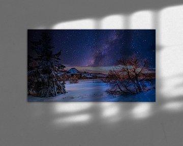 Erzgebirge 's nachts van Johnny Flash