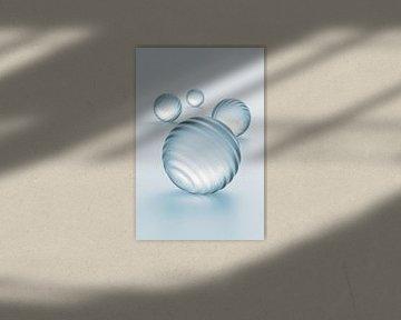 Groefballen blauw van Jörg Hausmann