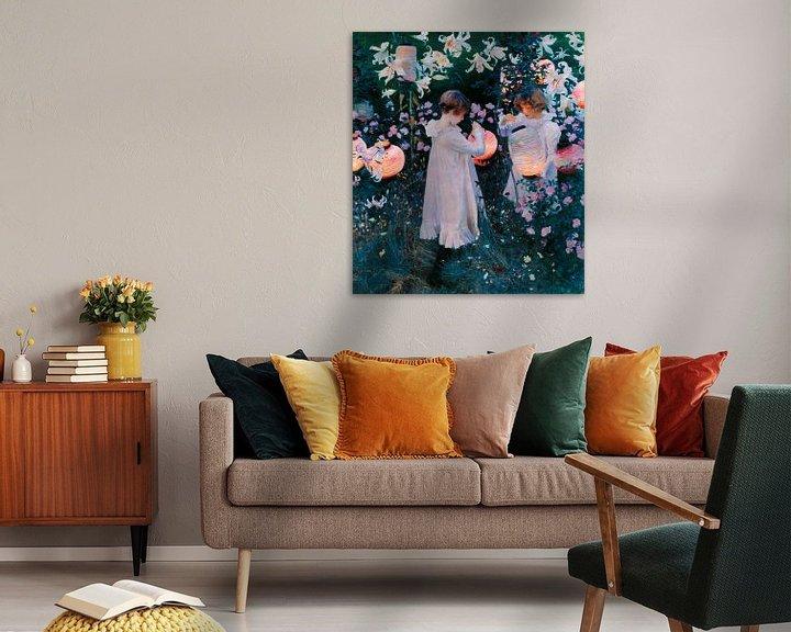 Sfeerimpressie: Carnation, Lily, Lily, Rose, John Singer Sargent