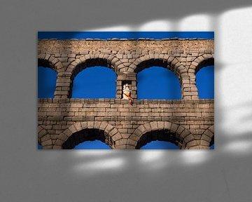 Aquädukt von Segovia, Spanien von Maarten Hoek
