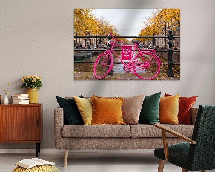 Sfeerimpressie: Amsterdam Free Bikes van Brian Morgan