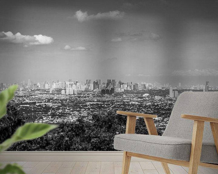 Beispiel fototapete: Weltstädte von elwin flik