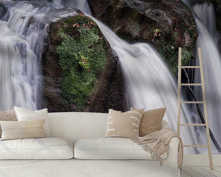 Sfeerimpressie behang: Go with the flow van Sander Poppe
