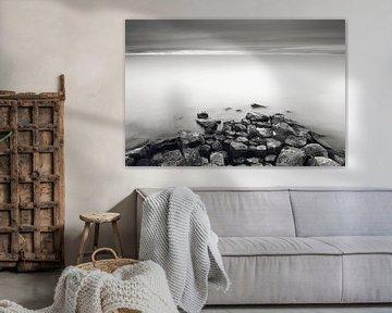 Langzeitbelichtung Ijsselmeer von Mark van der Walle