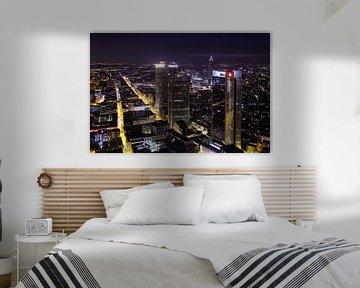 Frankfurt@night von Patrick Lohmüller