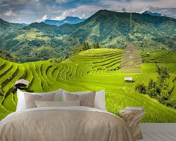 Impression: Panorama des rizières sur Jeroen Mikkers