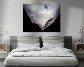 Mystieke bergen van de Nepalese Himalaya van Rik Pijnenburg