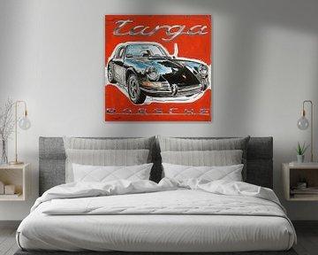 Porsche 911 Targa van Jeroen Quirijns