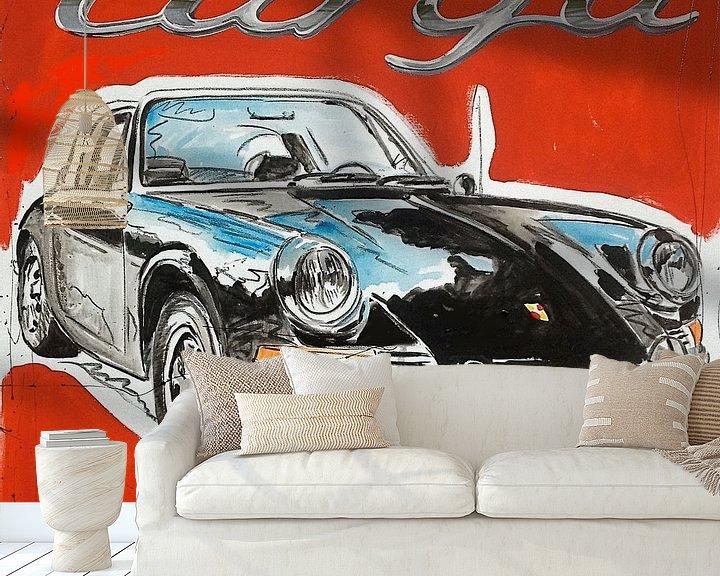 Beispiel fototapete: Porsche 911 Targa von Jeroen Quirijns