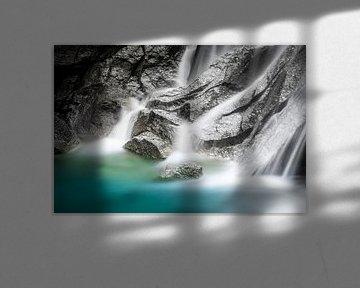Rustgevende waterval van Jeroen Mikkers