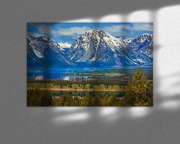 Jackson Lake, Grand Teton NP, Wyoming, USA