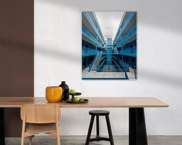 Eine blaue Oase von Marco de Groot