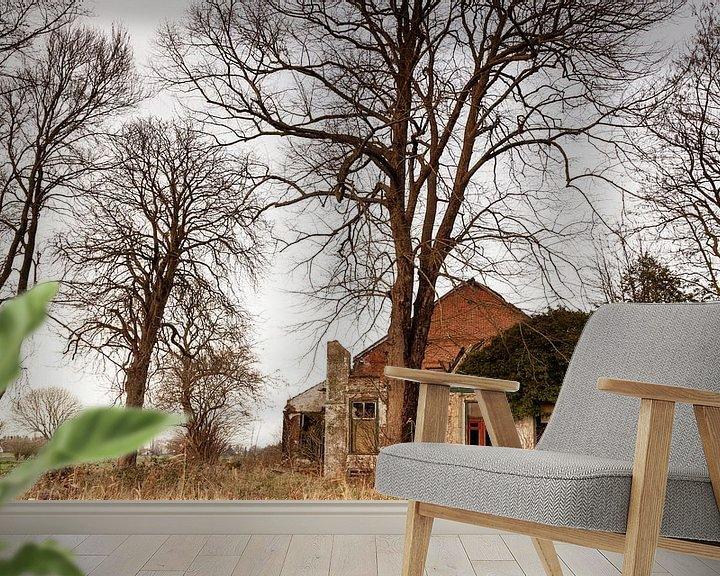 Beispiel fototapete: Verlassene Farm von Dick Doorduin
