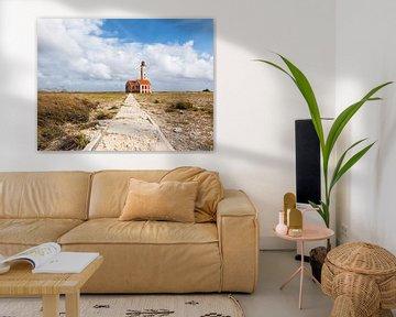 phare sur le petit Curaçao