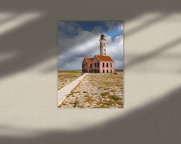 phare sur l'île de Klein Curacao