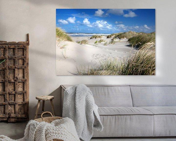 Beispiel: Ameland-Dünen von Arjan Boer