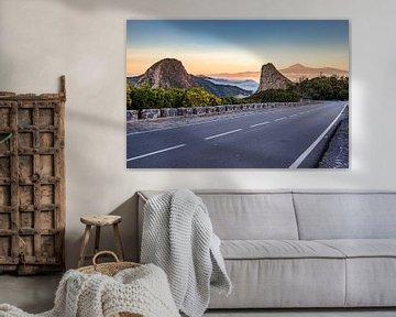 Los Roques en El Teide