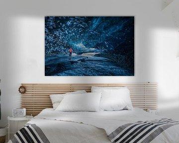 Gigantische ijsgrot van Denis Feiner