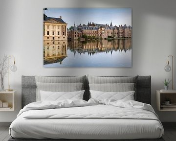 Regeringsgebouwen aan de Hofvijver in Den Haag van gaps photography