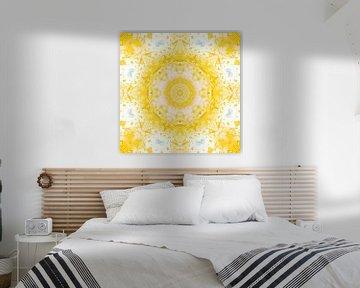 P4444 geel en wit van Claudia Gründler