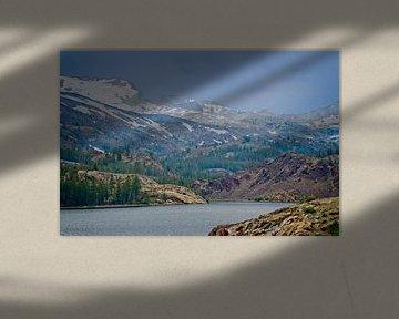 Ellery Lake - California van Arjen van de Belt