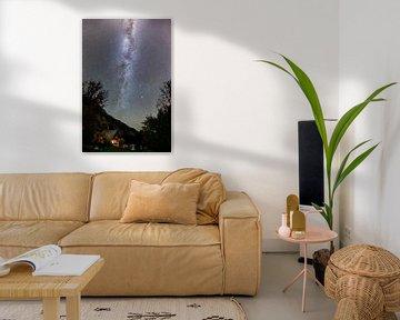 Melkweg boven het Triglav Nationaal Park van Denis Feiner