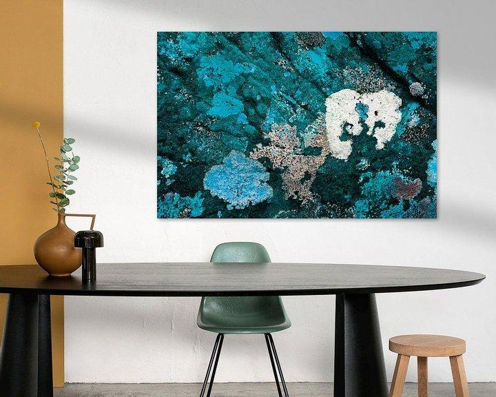 Sfeerimpressie: Gekleurde rotsen 2 van Greetje van Son