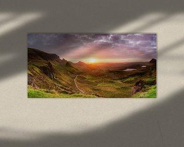Quirang bei Sonnenaufgang von Gerwald Harmsen