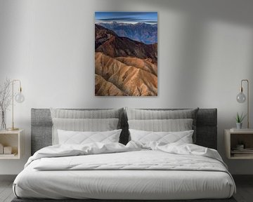 Zabriskie point, Vallée de la Mort
