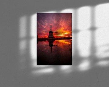 Sky on fire van peterheinspictures