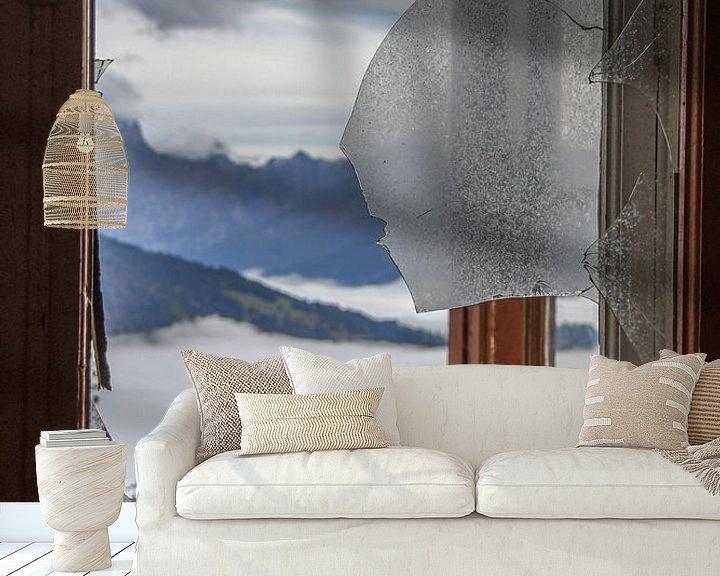 Beispiel fototapete: Zimmer mit Aussicht 2 von Nancy Lamers