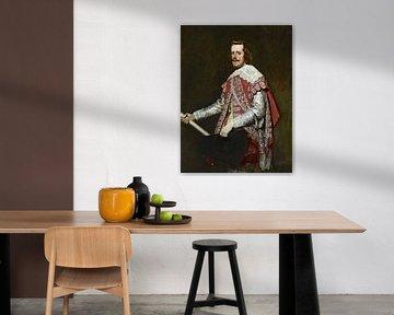 König Philipp IV. von Spanien, Diego Velázquez