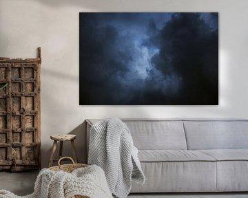 Donkere wolken van Gerryke van der Graaf