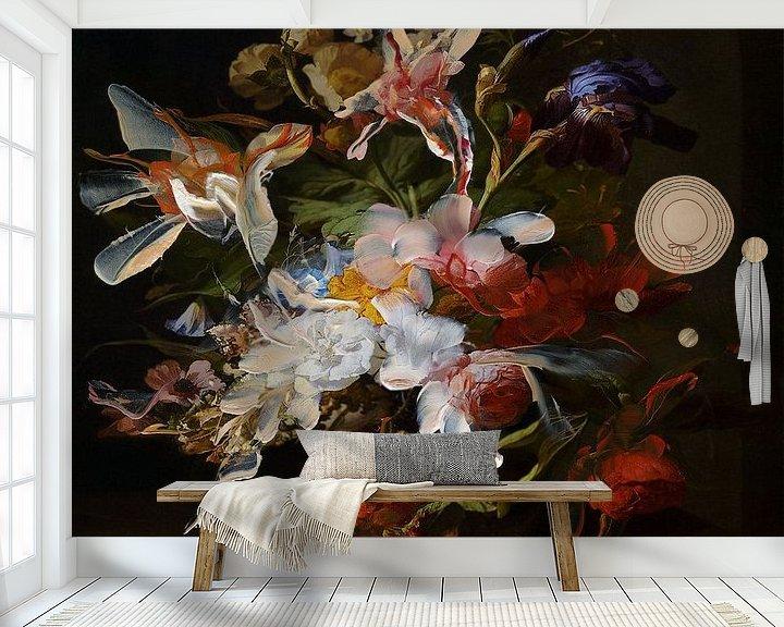 Beispiel fototapete: Blumenstillleben von Jacco Hinke