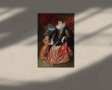 Susanna Fourment und ihre Tochter, Antoon van Dyck