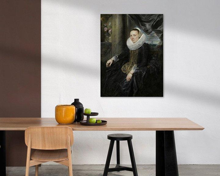 Beispiel: Margareta de Vos, Antoon van Dyck