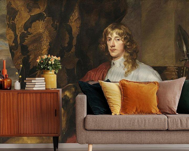 Beispiel fototapete: James Stewart Herzog von Richmond, Antoon van Dyck