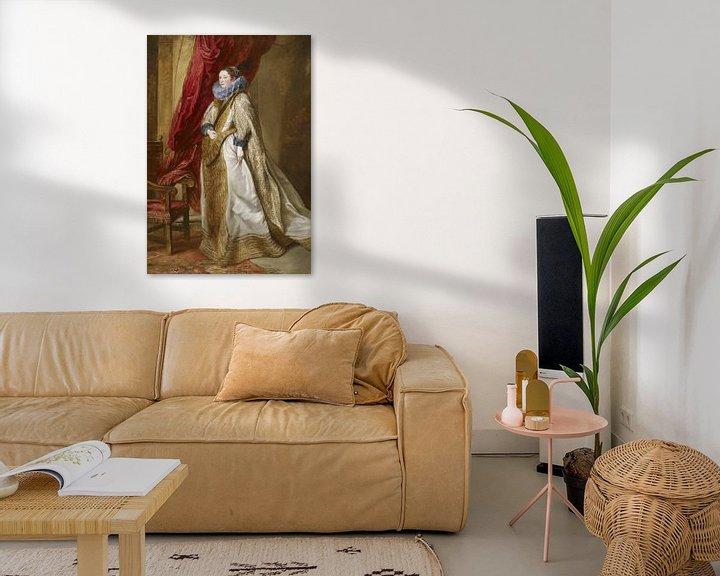 Beispiel: Genuesische Adelige, Antoon van Dyck