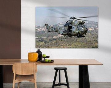 Libanese Luchtmacht IAR-330SM Puma van Dirk Jan de Ridder