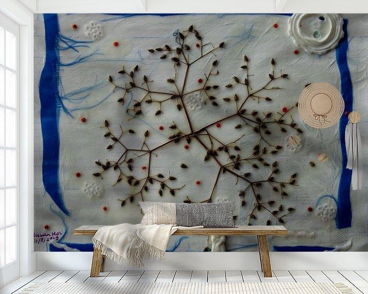 Sfeerimpressie behang: Winterwonderland van Susan Hol