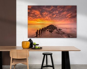 Bloodsky - Wattenmeer, Die Niederlande von Bas Meelker