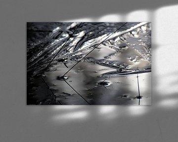 abstracte ijs kunst van Herman Kremer
