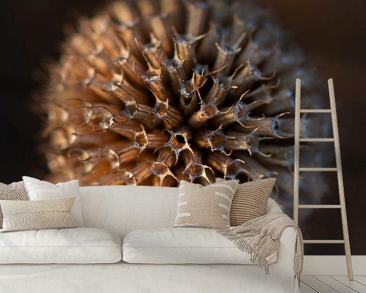 Sfeerimpressie behang: Herfst bol van Ton de Koning